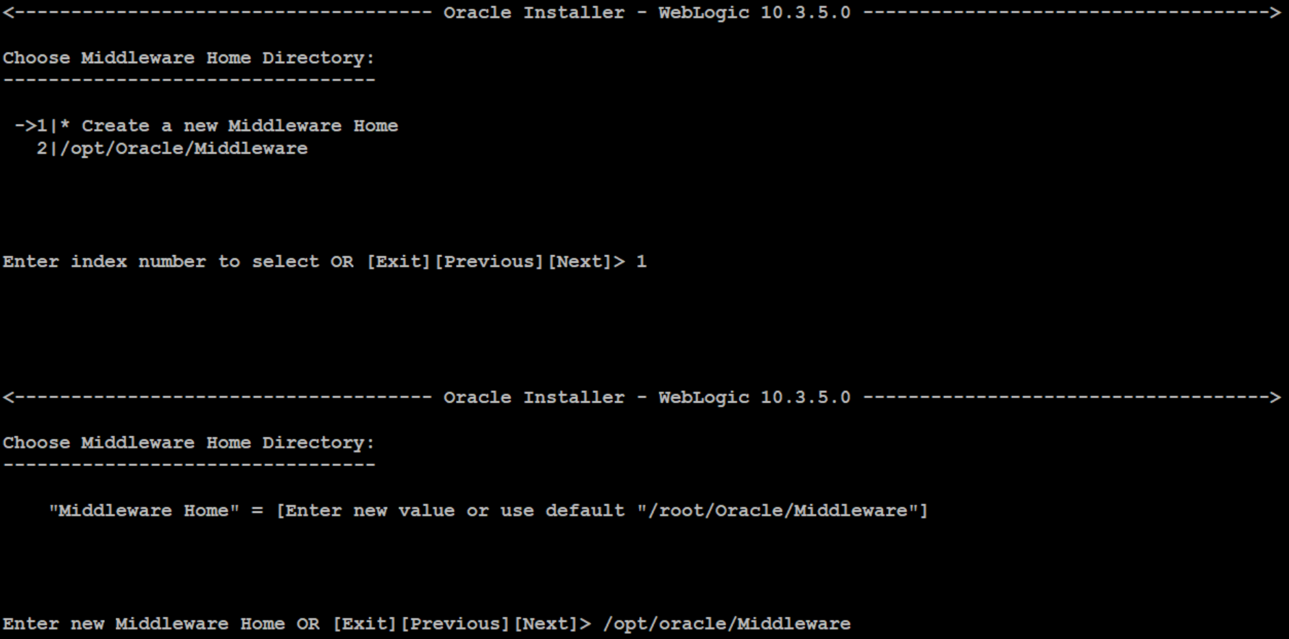 weblogic installation in command line mode on linux WebLogic Administration WebLogic Vulnerability