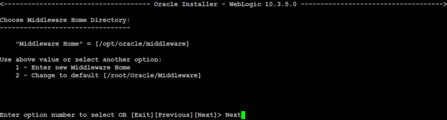 weblogic installation in command line mode on linux WebLogic Interview Questions WebLogic Tutorial